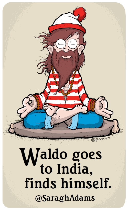 Waldo finds himself.